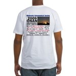 Onan Schedule Fitted T-Shirt