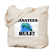 Manatees Rule! Tote Bag