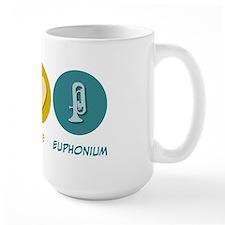 Peace Love Euphonium Mug