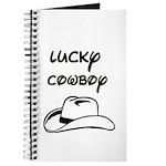 LUCKY COWBOY HAT Journal