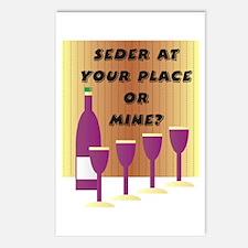 Seder Cups Postcards (Package of 8)