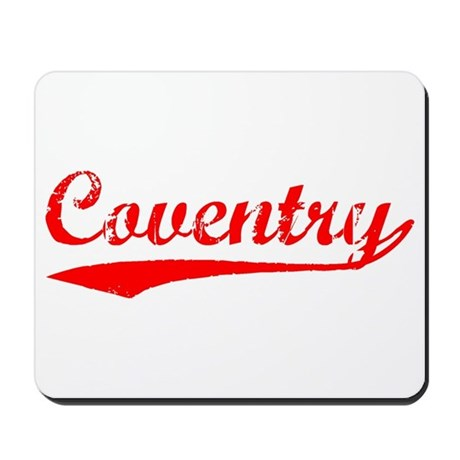 Vintage Coventry (Red) Mousepad