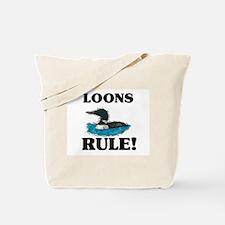 Loons Rule! Tote Bag