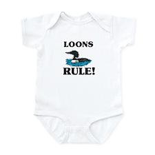 Loons Rule! Infant Bodysuit