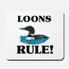 Loons Rule! Mousepad