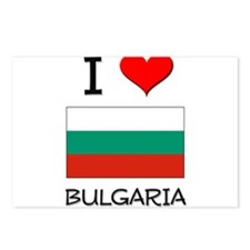 I Love Bulgaria Postcards (Package of 8)