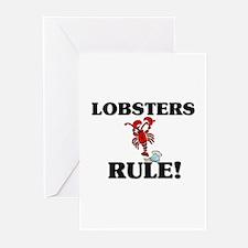 Lobsters Rule! Greeting Cards (Pk of 10)