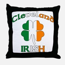 Cleveland Irish Throw Pillow