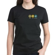 Peace Love Equestrian Studies Tee