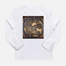cool,oriental,chinese,japanese Long Sleeve T-Shirt