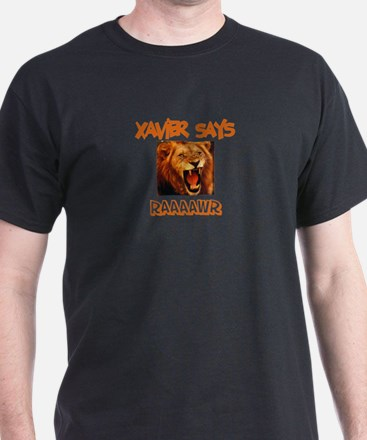 Xavier Says Raaawr (Lion) T-Shirt