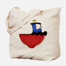 Cute Tugboat Picture 2 Tote Bag