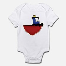 Cute Tugboat Picture 2 Infant Bodysuit