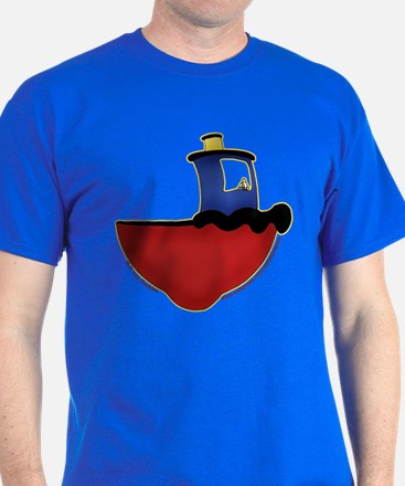 Cute Tugboat Picture 2 T-Shirt