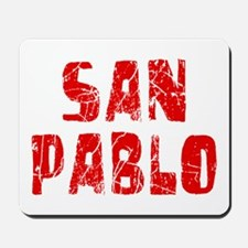 San Pablo Faded (Red) Mousepad