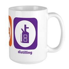 Eat Sleep Distilling Mug