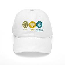 Peace Love Environmental Engineering Baseball Cap