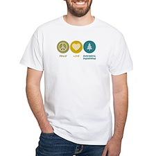 Peace Love Environmental Engineering Shirt