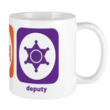 Eat Sleep Deputy Mug