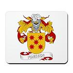 Fonseca Family Crest Mousepad