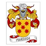 Fonseca Family Crest Small Poster