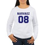 Narvaez 08 Women's Long Sleeve T-Shirt