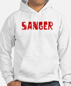 Sanger Faded (Red) Hoodie