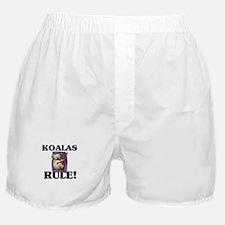 Koalas Rule! Boxer Shorts