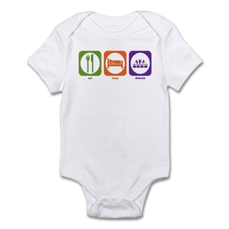 Eat Sleep Debate Infant Bodysuit