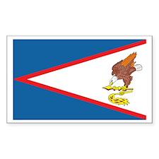 AMERICAN-SAMOA Rectangle Decal