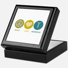 Peace Love Endocrinology Keepsake Box