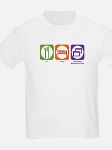 Eat Sleep Database Administration T-Shirt