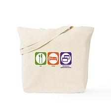 Eat Sleep Database Administration Tote Bag