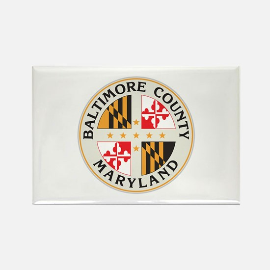 BALTIMORE-COUNTY-SEAL Rectangle Magnet