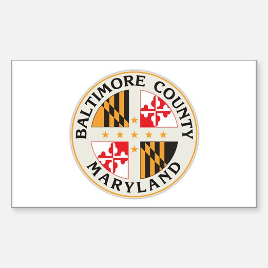 BALTIMORE-COUNTY-SEAL Rectangle Decal
