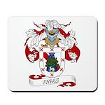 Frias Family Crest Mousepad