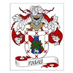 Frias Family Crest Small Poster