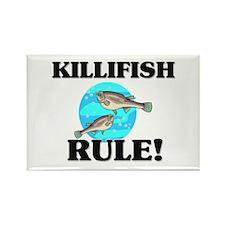 Killifish Rule! Rectangle Magnet