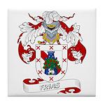 Frias Family Crest Tile Coaster