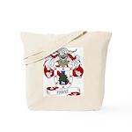 Frias Family Crest Tote Bag