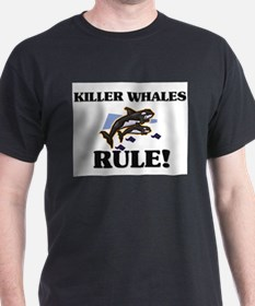 Killer Whales Rule! T-Shirt
