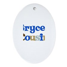 Bryce's Cousin Oval Ornament