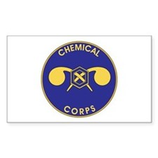 CHEMICAL-CORPS Rectangle Decal