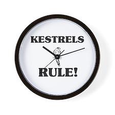 Kestrels Rule! Wall Clock