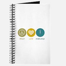 Peace Love Embalming Journal