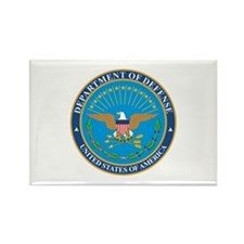 DEFENSE-DEPARTMENT-SEAL Rectangle Magnet