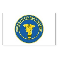 ARMY-RESERVE-SEAL Rectangle Decal