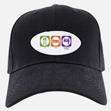 Eat Sleep Customer Service Baseball Hat