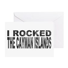 I Rocked Cayman Islands Greeting Card