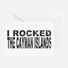 I Rocked Cayman Islands Greeting Card